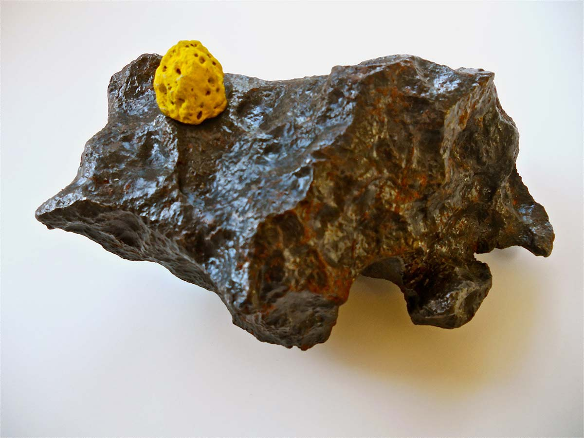 Meteorite With Dots